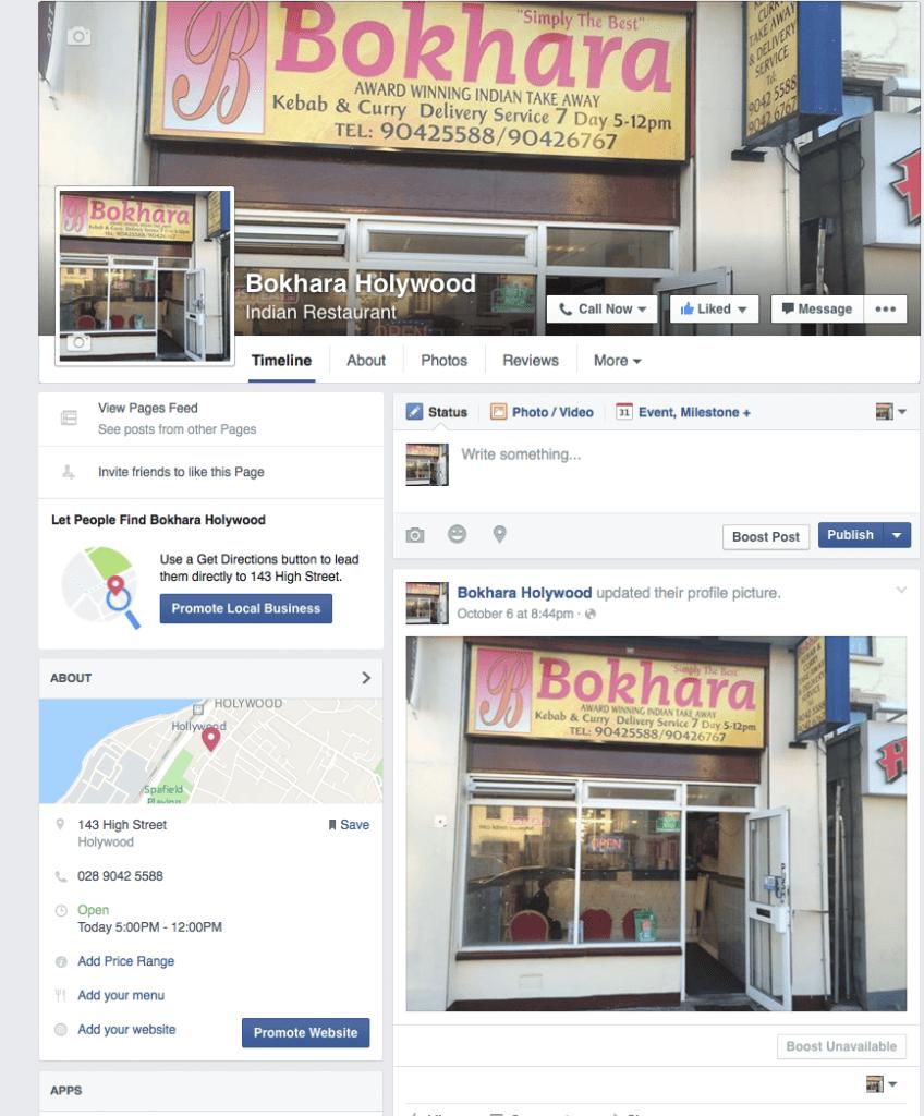 Bokhara Holywood On Facebook
