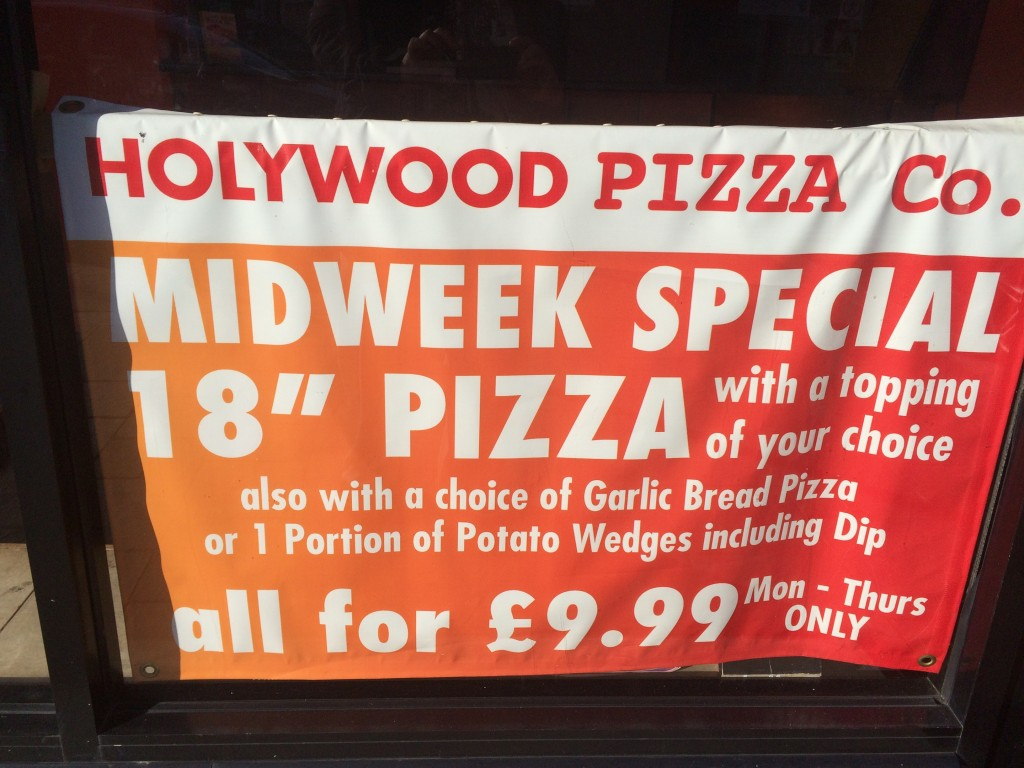 Holywood Pizza Meal Deal